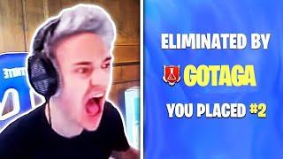 7 YouTubeurs Fortnite Qui Ont Tués Ninja! (RAGE)