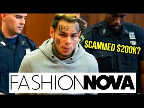 6IX9INE SCAMS FASHION NOVA WITH 6 FIGURE DEAL?! Mp3