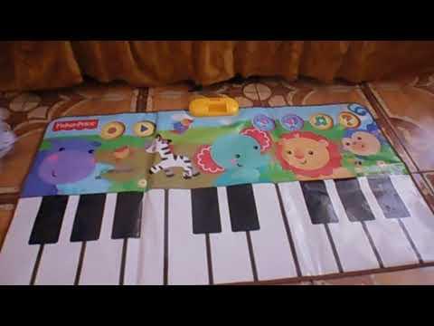 FISHER - PRICE - PIANO DE PIE DANCE