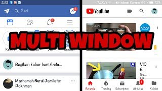 Cara membuat Multi Window di hp android