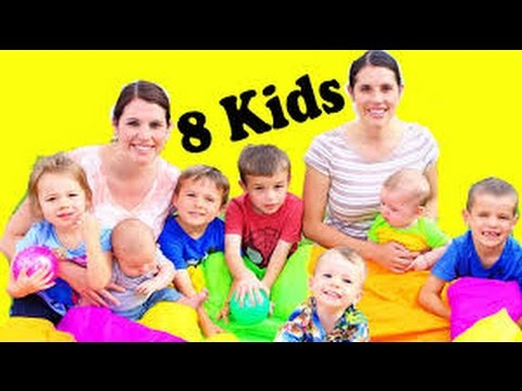 Thumbnail: DisneyCarToys & AllToyCollector Twins 8 KIDS Summer Family Fun Outdoor School Games Learn Colors