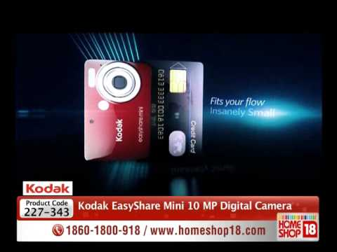 homeshop18---kodak-easyshare-mini-10-mp-digital-camera-with-3x-zoom