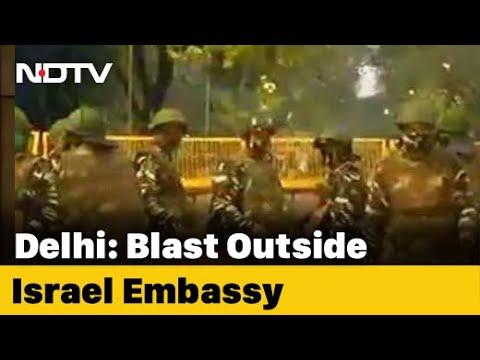 Minor Blast Near Israel Embassy Sparks Scare In Delhi's VIP Zone