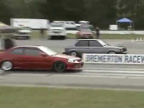 Drag racing the Omni GLH SRT4