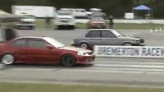 Drag racing the Omni GLH SRT4