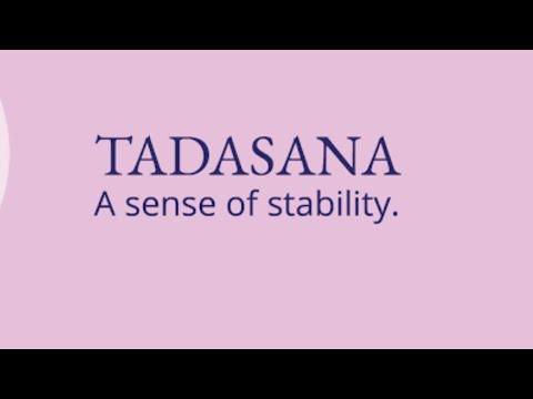 tadasana yoga video  youtube