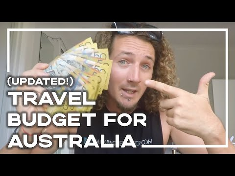 Travelling Australia - How Much Do YOU Need To Budget? (2020 UPDATE!) 🇦🇺 | Stoked For Travel
