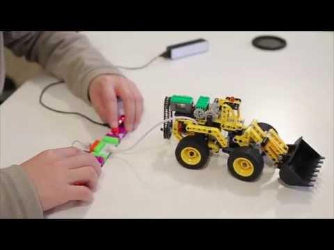 Metas邁特思電子積木:使積木動起來 - YouTube