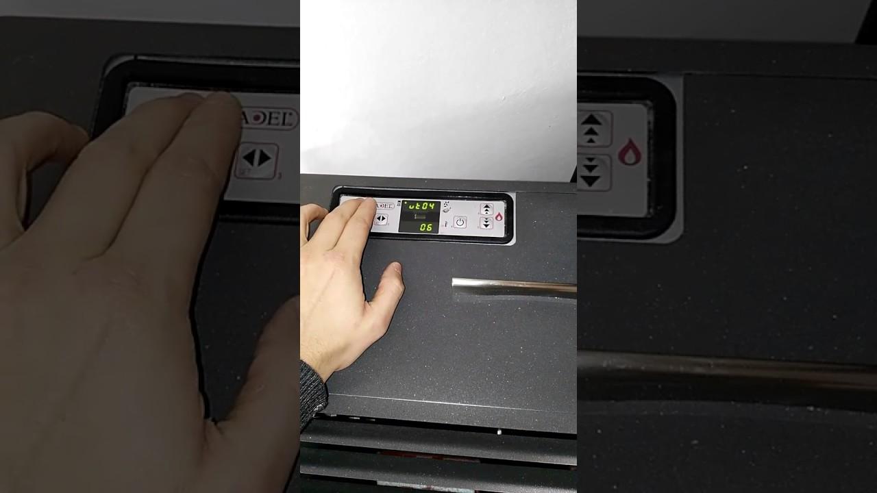 ripristinare parametri tecnici di fabbrica stufa a pellet