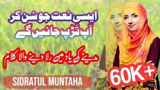 World Best Naat Bulalo Phir Mujhe Aai Shahe Bahrobar Urdu lyrics Naat #Tufailkhan