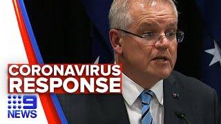 Scott Morrison responds to coronavirus pandemic