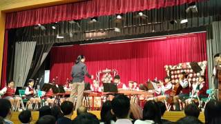 英華小學家教會2016選舉日,中樂團表演。