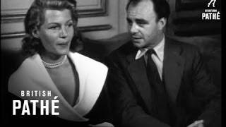 Rita Hayworth & Aly Khan Meet Again (1952)