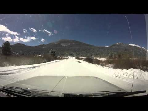 Colorado Drives - Rocky Mountain National Park after Blizzard - Fall River to Trail Ridge Rd.