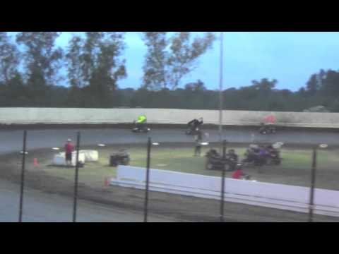 Kyle Larson Cycleland Speedway Open Division Dash
