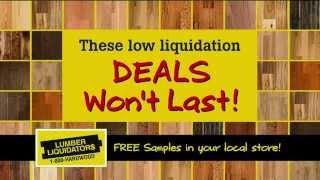 TV Commercial - Lumber Liquidators Sale - May 2014 - Laminate & Vinyl Flooring