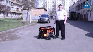Как запустить бензиновый генератор  Виталс(, 2014-03-26T19:36:05.000Z)