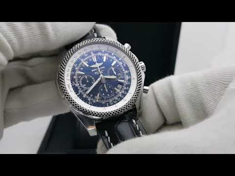 Правило трёх, использование логарифмической шкалы в часах Breitling For Bentley! (Видео обзор 4/5)