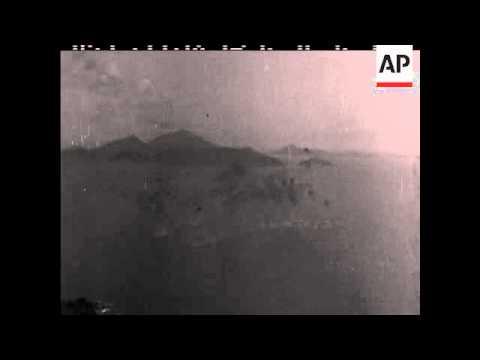 Matsu Island Defence Inspection - 1956 - NO SOUND