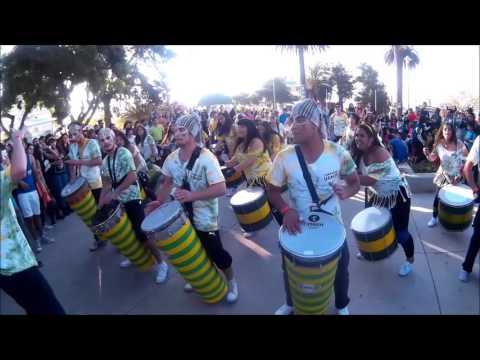 Comparsa Usach - Presentacion Cerro los Placeres    Mil tambores 2016
