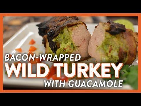 Bacon-Wrapped Wild Turkey w/ Guacamole | Legendary Recipe