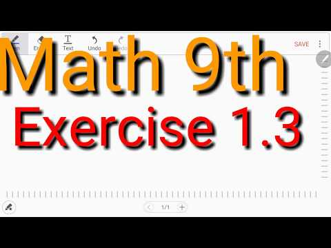 9th Class Mathematics EX # 1.3 Q # 2 thumbnail