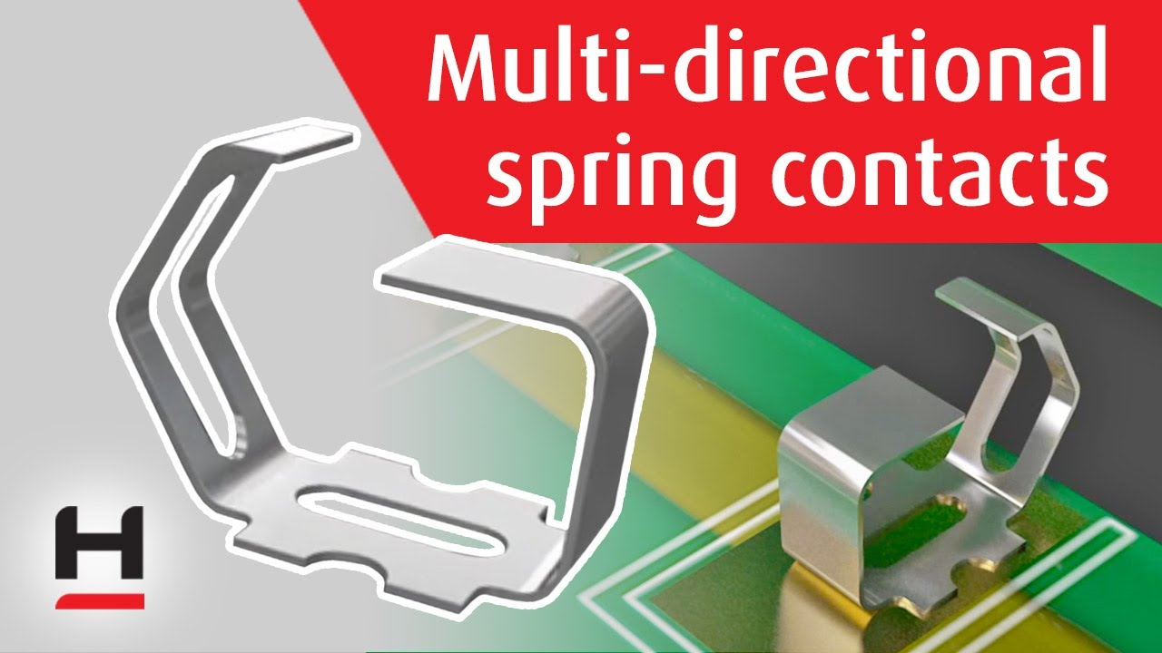 Youtube video for SMT Spring Contact – Multi-directional