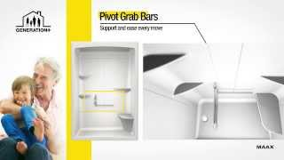 ALLIA - Acrylic Showers & Tub Showers Features