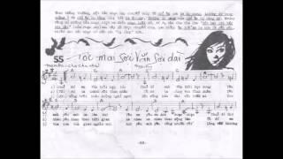Tập guitar điệu Mambo Chachacha TÓC MAI SỢI VẮN SỢI DÀI by n/s Phạm Duy 1978