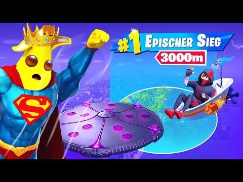 Ich FLIEGE die GANZE RUNDE wie SUPERMAN und GEWINNE?! 😱 (zu krass) Fortnite Season 7 Deutsch
