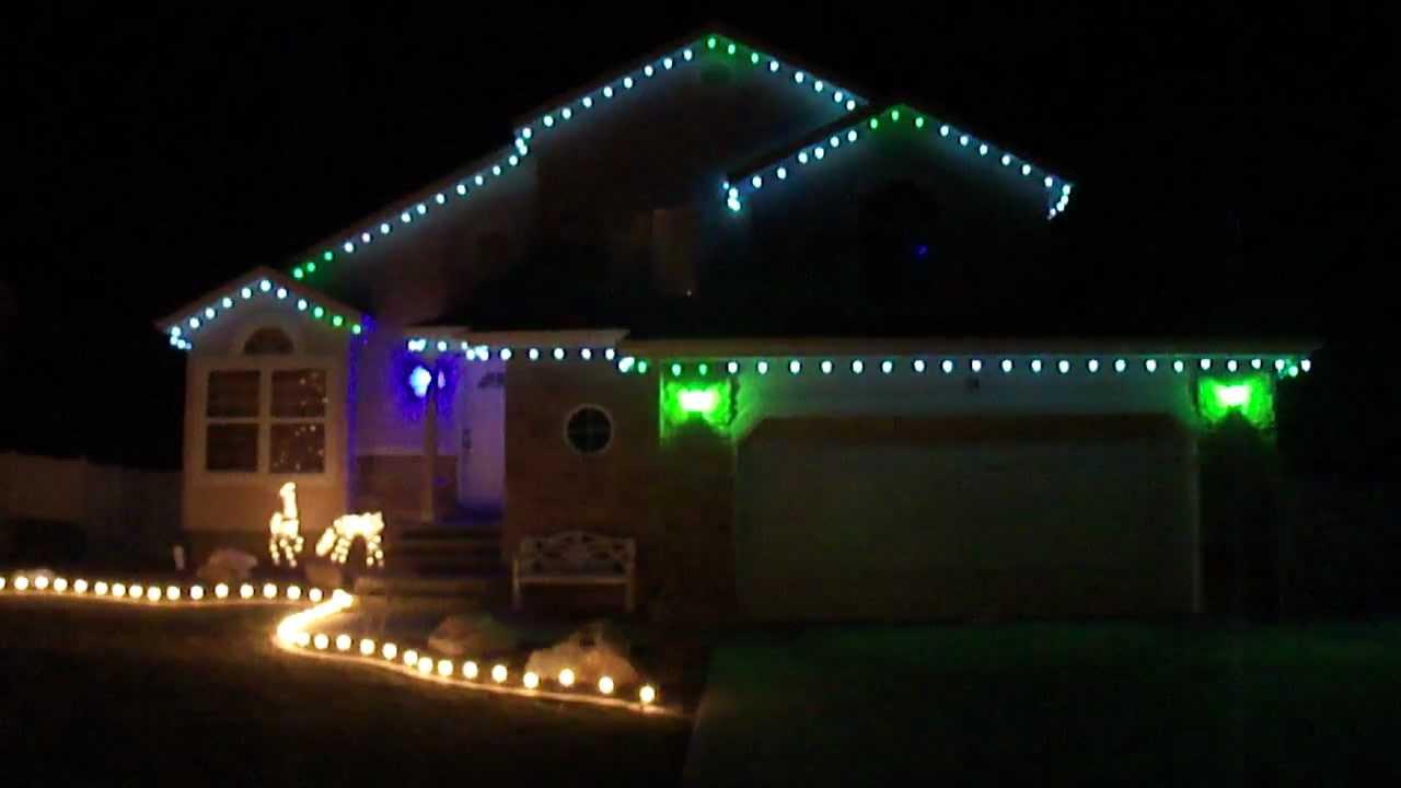 Color Changing Christmas Lights.Christmas Lights Multi Color Changing