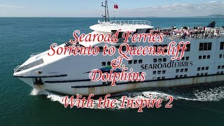 Gambar cover SEAROAD FERRIES, Sorrento to Queenscliff, Victoria, Australia with the Inspire 2 {drone Ship Chase}