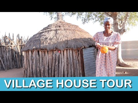 AFRICAN VILLAGE HOUSE TOUR (Namibia) - village life - Lempies