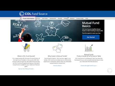 How to Navigate COL Financial's Mutual Fund Platform