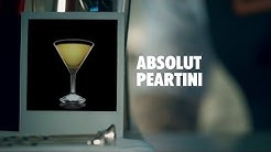 ABSOLUT PEARTINI DRINK RECIPE - HOW TO MIX