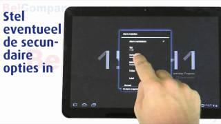 Samsung Galaxy Tab 10.1v - Het instellen van de wekker