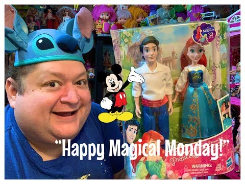 Hasbro Disney Ariel and Prince Eric Doll Gift Set Review✨- Magical Monday!