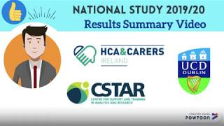 HCA & Carers Ireland and UCD CSTAR Study Results Summary