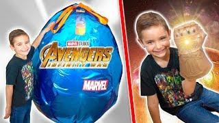 CAPSULE GÉANTE MARVEL AVENGERS  NF N TY WAR    Thanos  Nfinity Gauntlet Nerf...