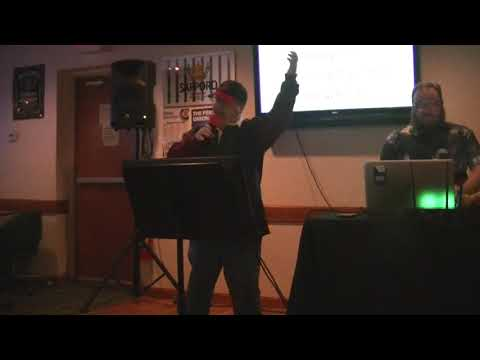 """Karaoke Video:  """"Straw Hat and Old Dirty Hank"""" by Barenaked Ladies (April 2018)"""