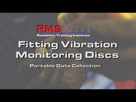 Vibration Analysis -  Fitting Monitoring Discs