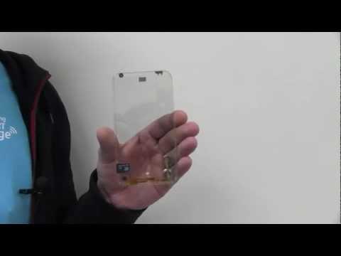 Прозрачные смартфоны могут появиться в продаже в 2013