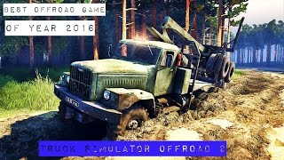 BEST OFFROAD GAME OF YEAR 2016-2017 ##TRUCK SIMULATOR OFFROAD 2##Android/ios