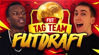 FIFA 16 | TAG TEAM FUT DRAFT!!