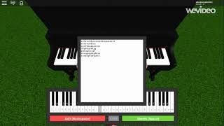 Hymne national sur le piano ROBLOX