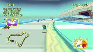 Looney Tunes: Space Race (PS2) walkthrough - Space Vacation Cup
