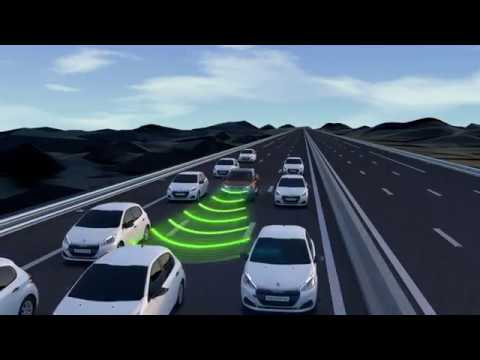 Adaptive Cruise Control with Stop Function  New Peugeot 3008 SUV