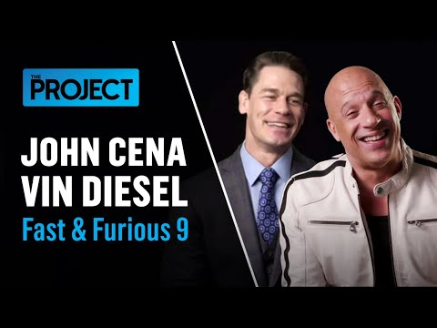 Vin Diesel And John Cena Give Peter Hellier's Son Some Tips Ahead Of His Driving Test | The Project