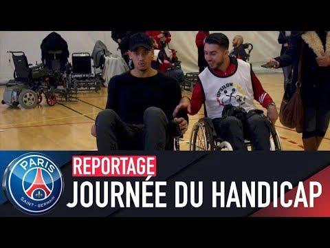 Le Paris Saint-Germain s'associe à la journée du Handicap avec Thiago Silva - Rabiot - Areola