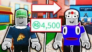 SPENDING 5,000 ROBUX! (Roblox Murder Mystery 2)